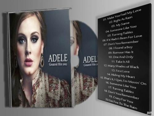 Adele Gratest Hits 2º CD - Títulos - 02 05 2013