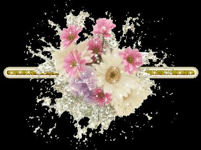 Barra con flores