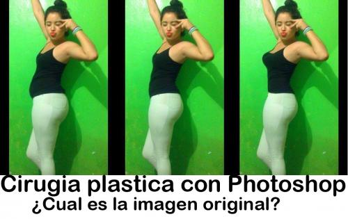 Cirugía plástica con Photoshop