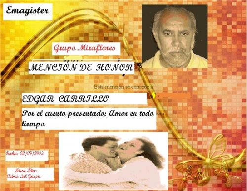 Concurso de Cuentos Originales Mención de Honor Edgar Carrillo