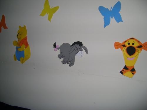 Imagen decoracion winnie pooh for Cuarto winnie pooh