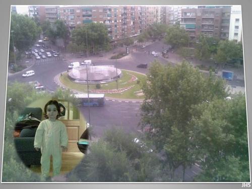 Desde mi terraza (Mi nieta Laura) - 05 05 2013