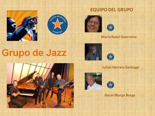 Equipo del grupo de jazz