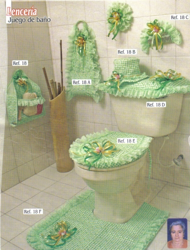 Set De Baño Tejido En Crochet Paso A Paso:Imagen JUEGO DE BAÑO – gruposemagistercom