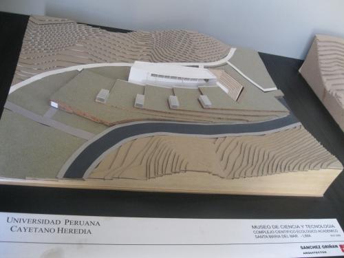 Maqueta: Museo Interactivo de Ciencia y Tecnologia (MICYT). Lima, Per�