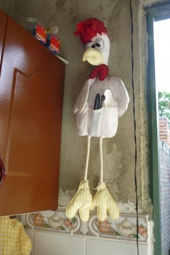Imagen pollo porta cucharas for Porta cucharas cocina
