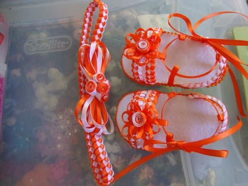 Patrones de sandalias para bebé en foami - Imagui